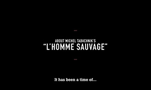 2016 homme sauvage laurent bayle